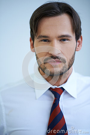 Portrait of a Caucasian confident businessman