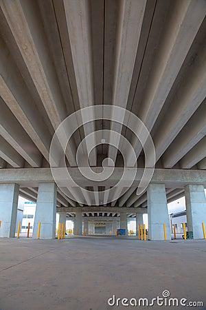 Portrait of Concrete beam bridge