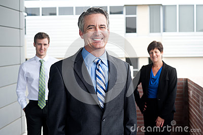 Portrait of a confident mature businessman