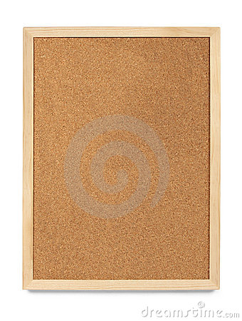 Portrait Cork Board