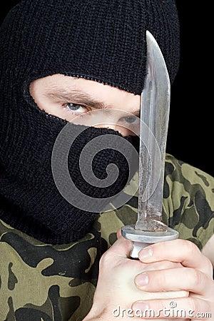 Portrait of  the criminal