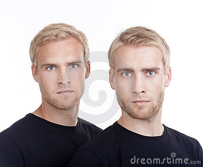 Portrait der Zwillingsbrüder