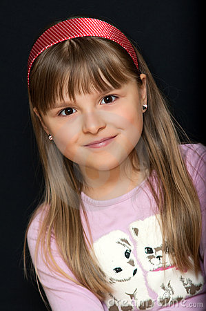 Portrait des jungen Mädchens