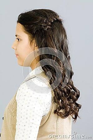 Portrait des Mädchens