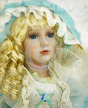 Free Portrait Doll Toy, Closeup Royalty Free Stock Photography - 51643217