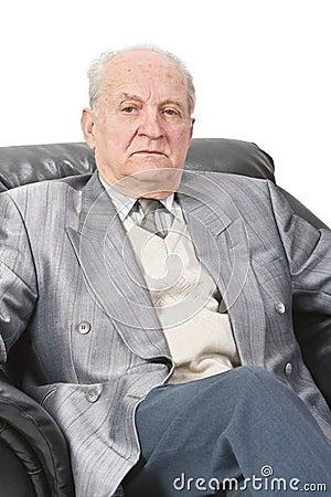 Portrait eines Älteren