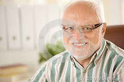 Stockphoto Closeup portrait of elderly