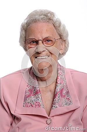 Portrait Of Elderly Woman Royalty Free Stock Photo - Image: 10606465