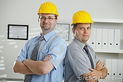 Portrait of engineers