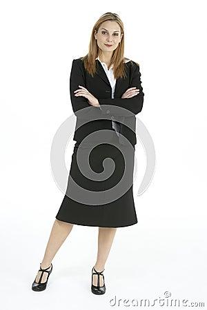 Portrait Of Female Executive