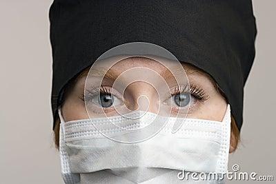 Portrait of female medical staff