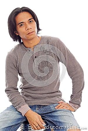 Portrait of a Filipino Male