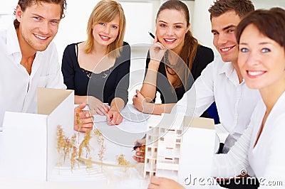 Portrait of five architects