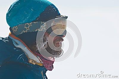 Portrait of freerider