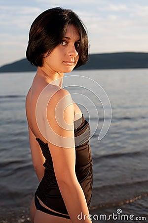 Portrait of a Georgian woman