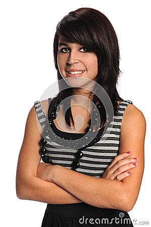 Portrait of Hispanic Teenager