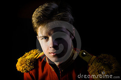 Portrait of lejb-Cossack