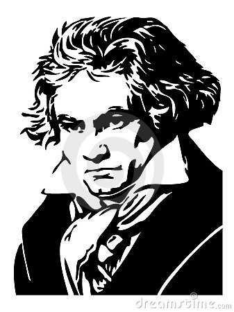 Portrait of Ludwig Van Beethoven Editorial Photo