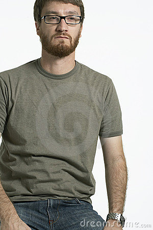 Portrait of man with Beard 01