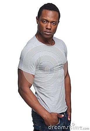 Masculine African American Man