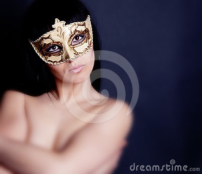 Portrait in mask