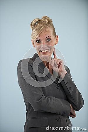 Portrait of a mature businesswoman