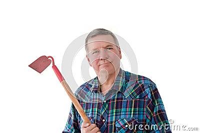 Portrait of Mature Gardener