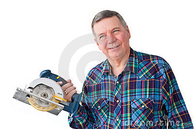 Portrait of Mature Handyman