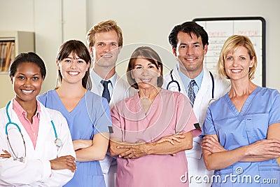 Portrait Of Medical team