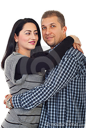 Portrait of mid adult couple