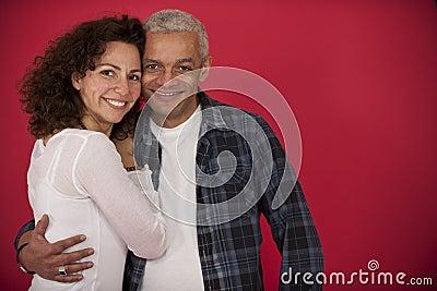 Portrait of a mid adult couple