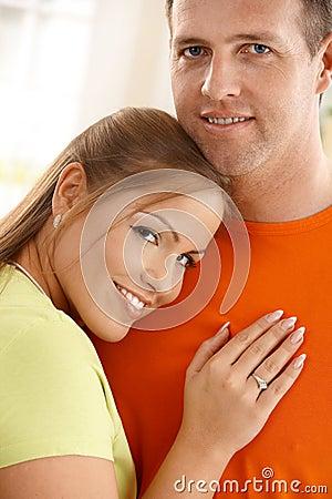 Portrait of mid-adult couple