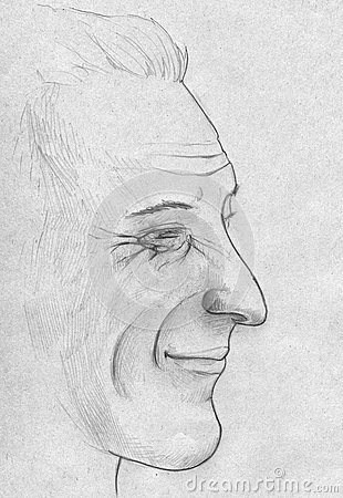 Portrait of a middle aged man