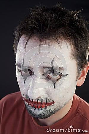 Portrait of a mime
