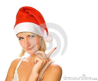 Portrait of Mrs. Santa