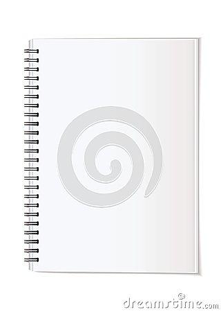Portrait note pad