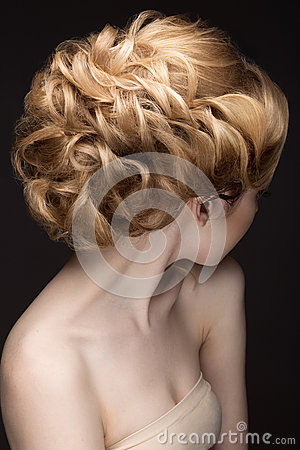 Free Portrait Of A Beautiful Blond Woman In The Image Of The Bride. Beauty Face. Stock Photos - 51029873