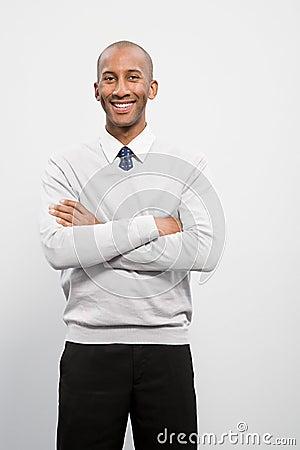 Free Portrait Of A Businessman Stock Image - 36095261