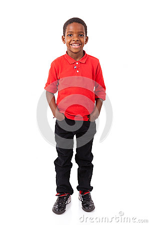 Free Portrait Of A Cute African American Little Boy Smiling, Isolated Royalty Free Stock Photos - 65865238