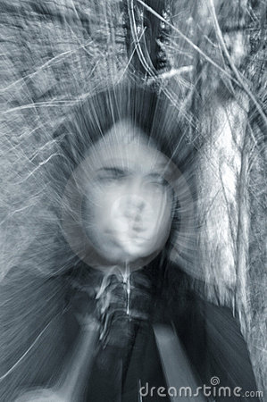 Free Portrait Of A Ghost Girl Stock Photos - 20744783