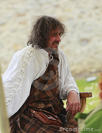 Free Portrait Of A Medieval Scotsman Stock Images - 19323304