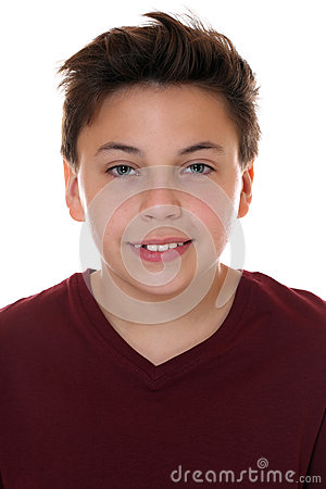 Free Portrait Of A Young Smiling Boy Royalty Free Stock Photo - 44504445