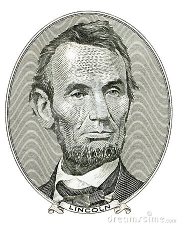Free Portrait Of Abraham Lincoln Royalty Free Stock Image - 3592146