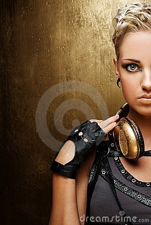 Free Portrait Of An Attractive Steam Punk Girl Stock Photos - 19608593