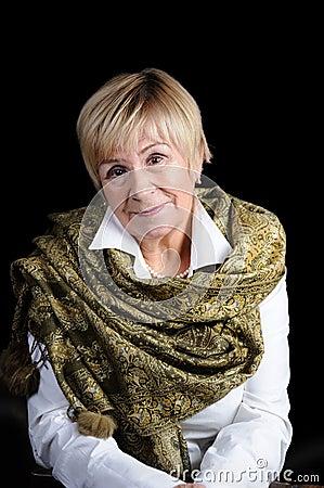 Free Portrait Of An Elderly Woman Royalty Free Stock Photos - 102564178
