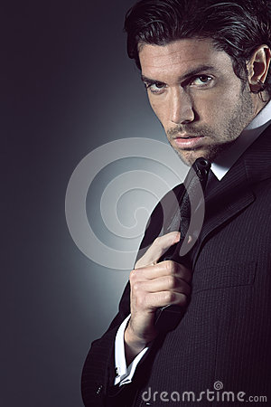 Free Portrait Of An Handsome Spy Stock Photos - 30830923
