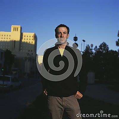 Free Portrait Of An Urban Man Royalty Free Stock Photos - 1442518