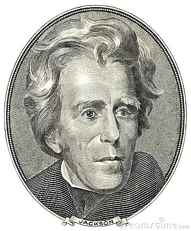 Free Portrait Of Andrew Jackson Royalty Free Stock Photography - 3586657