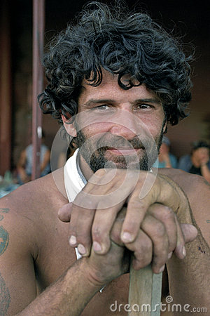 Free Portrait Of Argentinian Man, Worker, Argentina Stock Photo - 37838170