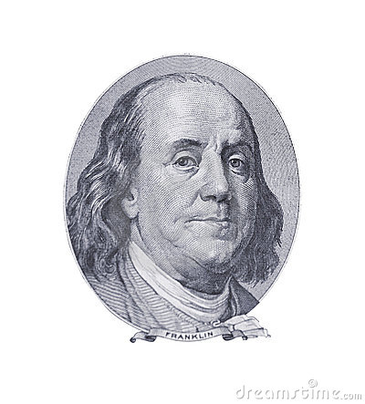 Free Portrait Of Benjamin Franklin Royalty Free Stock Images - 7718989